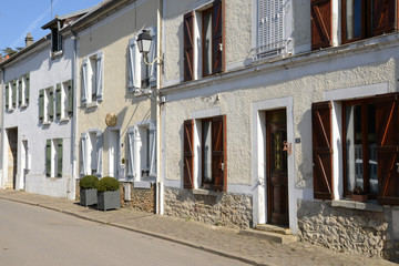 France, the picturesque village of Vigny