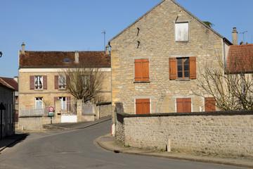 France, the picturesque village of Sagy