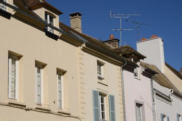 France, the picturesque village of Monfort l Amaury