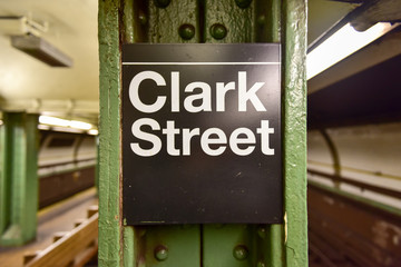 Clark Street Subway Station - Brooklyn, New York