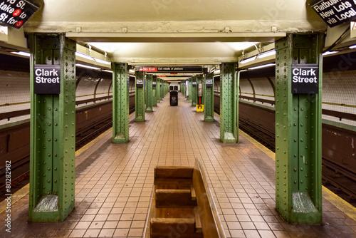 Clark Street Subway Station - Brooklyn, New York - 80282982