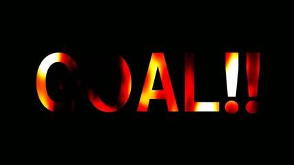 炎 テキスト goal