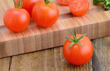 Cherry Tomatoes - Cutting Board
