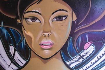 Graffiti de Chica
