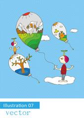 memory of balloons