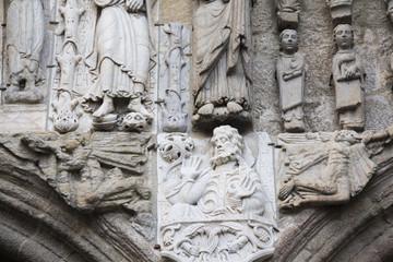 Detalle de la Catedral de Santiago