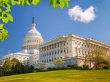 US Capitol at sunny day