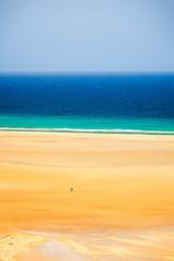 Beach on Atlantic ocean coast