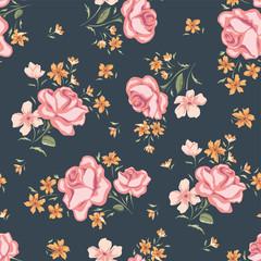 Floral seamless vintage pattern 2