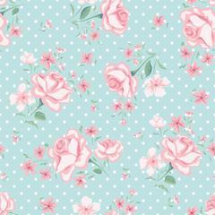 Floral seamless vintage pattern 3
