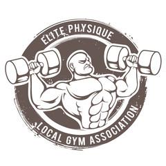 Gym Man Vector