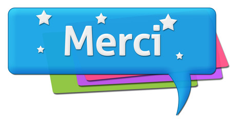 Merci Colorful Comment Symbol