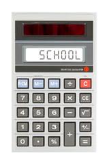 Old calculator - school