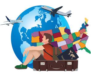 valigia turismo