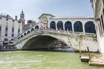 Rialto bridge in Venice-Italy