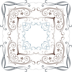Vector Scroll Frames