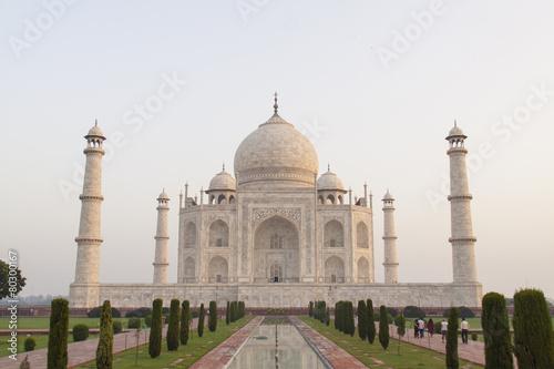 Spoed canvasdoek 2cm dik Delhi Taj Mahal