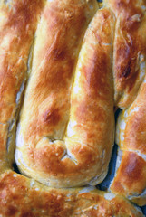 Burek with cottage cheese