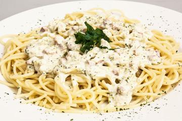 Tasty italian spaghetti