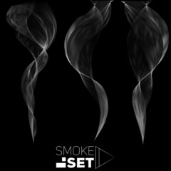 smoke great set waves abstract background vertical for design