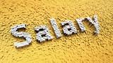 Pixelated Salary poster