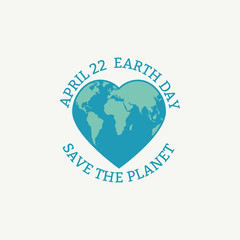 Earth Day concept.
