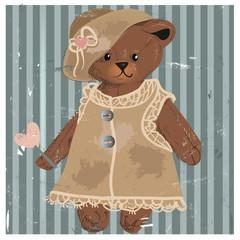 Teddy bear - girl