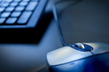 Internetkriminalität Maus