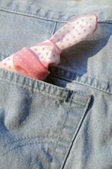 Knot handkerchief reminder
