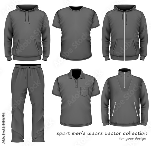 Sport men wear collection. - 80306990