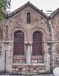 Athens, Greece, Panaghia Kapnikarea medieval church detail