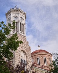 Athens, Greece, Chrysospiliotisa old church