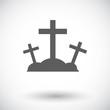 Calvary single icon.