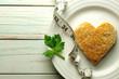 Healthy heart toast - 80308325