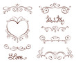 Set design elements for Valentine days and Wedding - 80308924