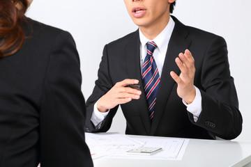 ビジネスシーン〜ミーティング