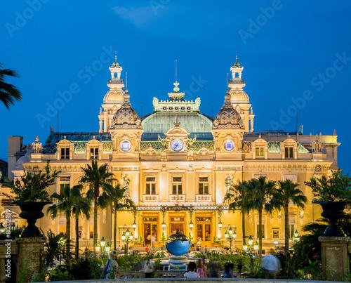 MONTE CARLO - JULY 4: Monte Carlo casino in Monaco on July 4, 20 - 80312159