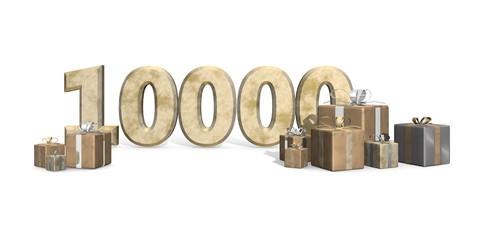 Feest voor de tienduizendste volger