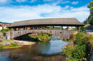 Historische Holzbrücke, Forbach