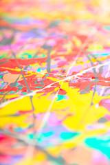 Defocused abstract painting