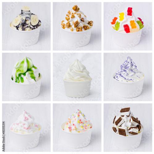 bunte frozen yogurts - 80315314