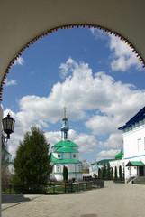Raif monastery near the city of Kazan, Russia