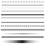 Set of dot and halftone dividers - 80316109