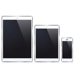 ipad iPhone white