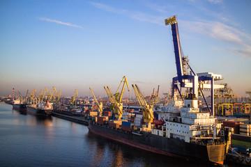 Marine port Container Terminal