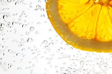 Orange in the water
