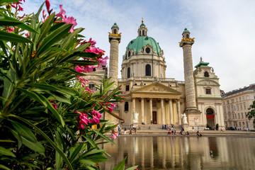Österreich, Wien, Karlskirche