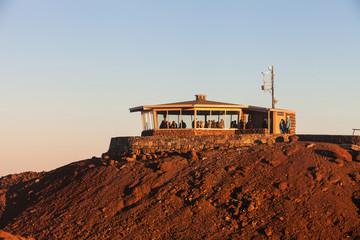 Observation Building on Haleakala