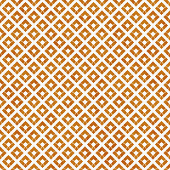 Orange and White Diagonal Squares Tiles Pattern Repeat Backgroun