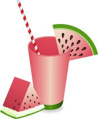 Watermelon Juice Summer Refreshment